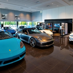 Porche-car-dealership-photographed-by-Philadelphia-architectural-photographer-Rich-Quindry