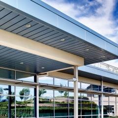 Architectural photographer Firestone Aluminum Building materials
