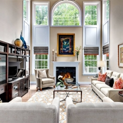 Staging Spaces family room