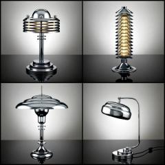 Retro Chrome Lamps